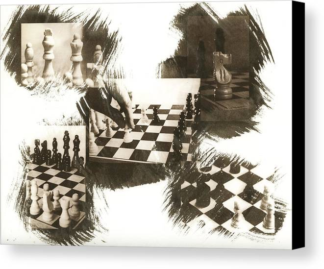 Chess Canvas Print featuring the photograph Your Move by Caitlyn Grasso