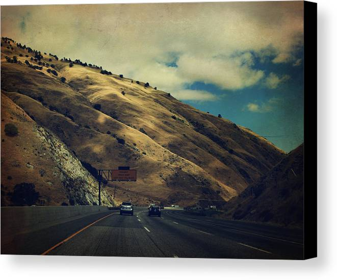 Grapevine Canvas Print featuring the photograph Love Is All Smoke And Mirrors by Laurie Search