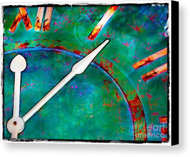 Circles Canvas Print featuring the photograph Once Upon A Time by Judi Bagwell