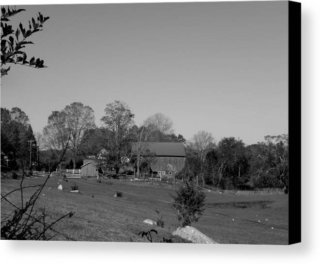 Farm Canvas Print featuring the photograph Pastures And Farm by Kim Galluzzo Wozniak