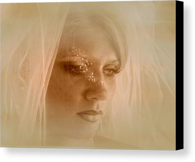 Stars Canvas Print featuring the photograph Stars In Her Eyes by Rianna Stackhouse
