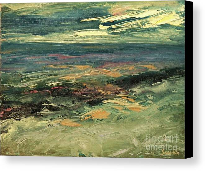 Sean Wu Canvas Print featuring the painting . by Sean Wu