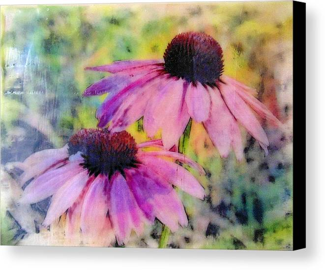 Blooms Canvas Print featuring the photograph All Delights Are Vain by Karen Brown