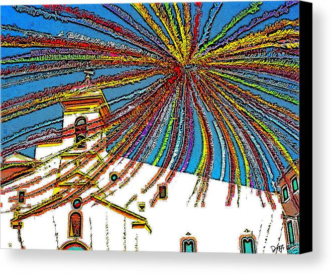 Canvas Print featuring the photograph Decked Out For Fiesta by Dee Flouton