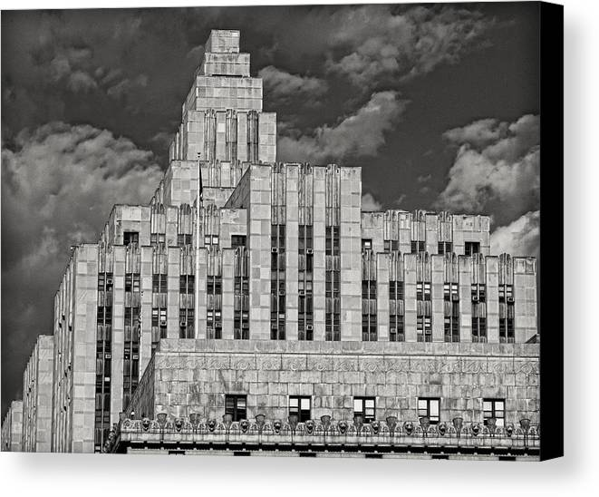 Architecture Canvas Print featuring the photograph Edifice Complex by Robert Ullmann