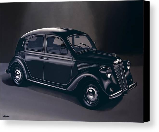 Lancia Ardea 1939 Painting Canvas Print / Canvas Art by Paul Meijering