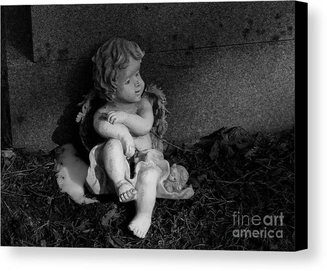 Resting Child Canvas Print featuring the photograph Most Sweet Resting Child by Steven Macanka