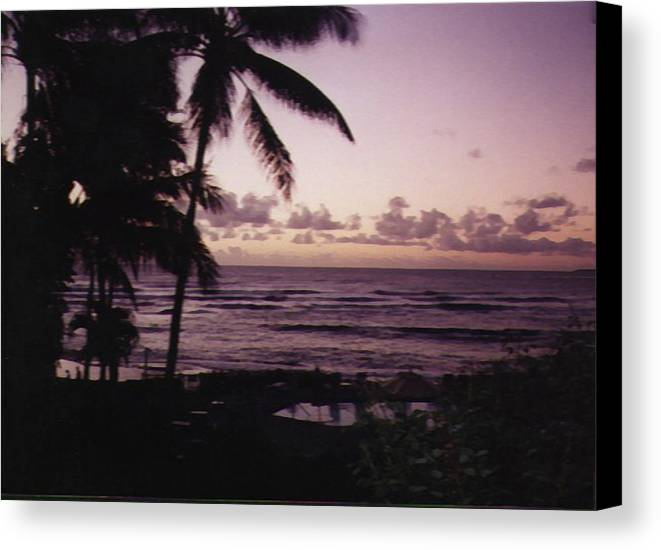 Hawaii Canvas Print featuring the photograph Rise by Adam Wells