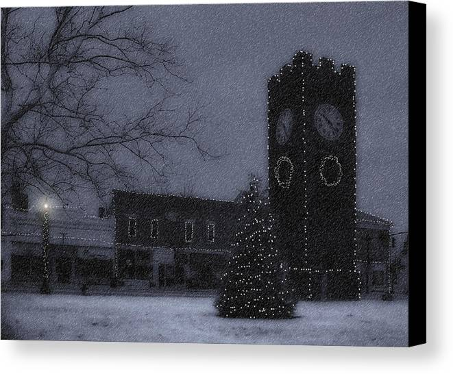 Night Canvas Print featuring the photograph Silent Night by Kenneth Krolikowski