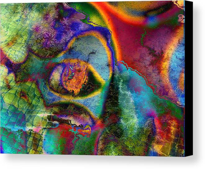 Water Canvas Print featuring the photograph Swimming In My Dreams by Johnny Aguirre