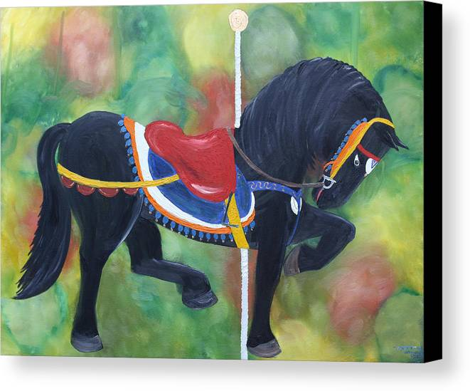 Unforgettable Canvas Print featuring the painting Unforgettable Spirit by Tammy Dunn