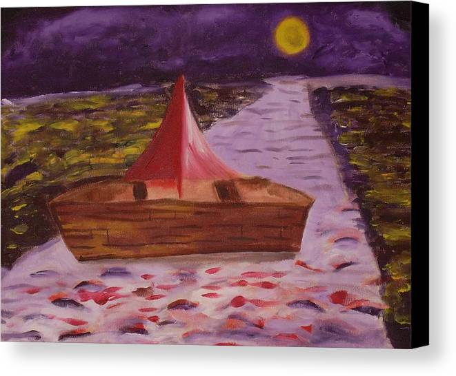Canvas Print featuring the painting What Is Traditional by Joseph Arico
