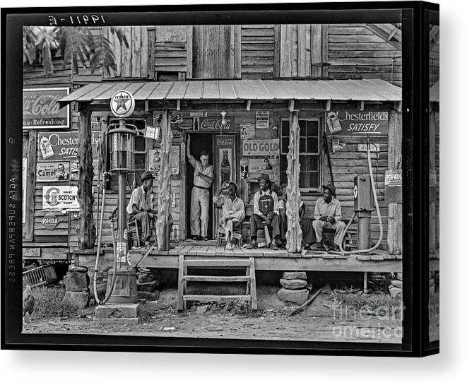 Loc Canvas Print featuring the photograph Country Store by Russ Brown