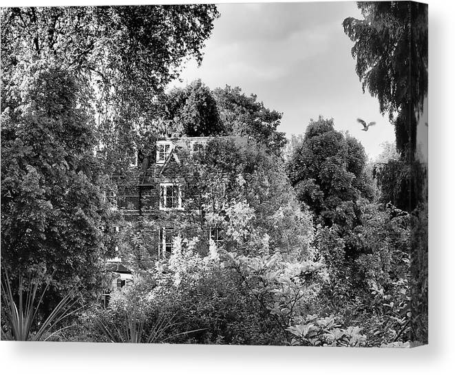 Hampstead Canvas Print featuring the photograph Gothic Hampstead by Rona Black