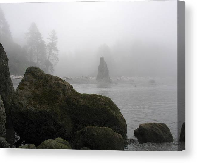Ocean Canvas Print featuring the photograph Coastal Fog by Ty Nichols