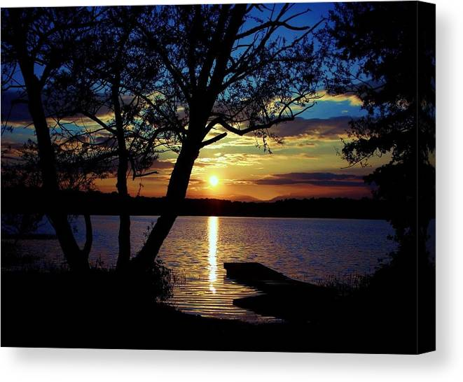 Landscape Canvas Print featuring the photograph Go To Nature by Mitch Cat