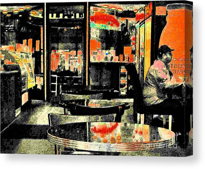 Orange Canvas Print featuring the photograph Orange by Gary Everson