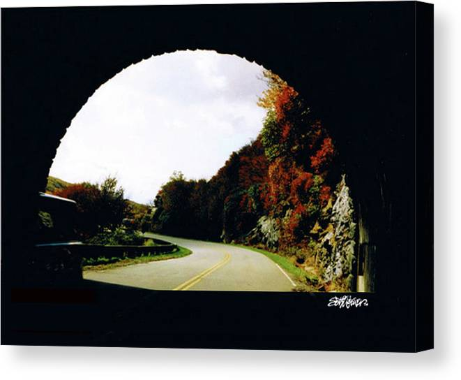Tunnel Vision Canvas Print featuring the photograph Tunnel Vision by Seth Weaver