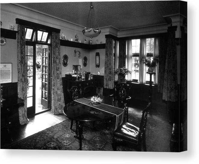 Dining Room Canvas Print Featuring The Photograph By Sasha