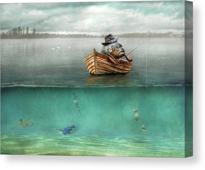 Fishing - Catch Of The Day by Mike Savad
