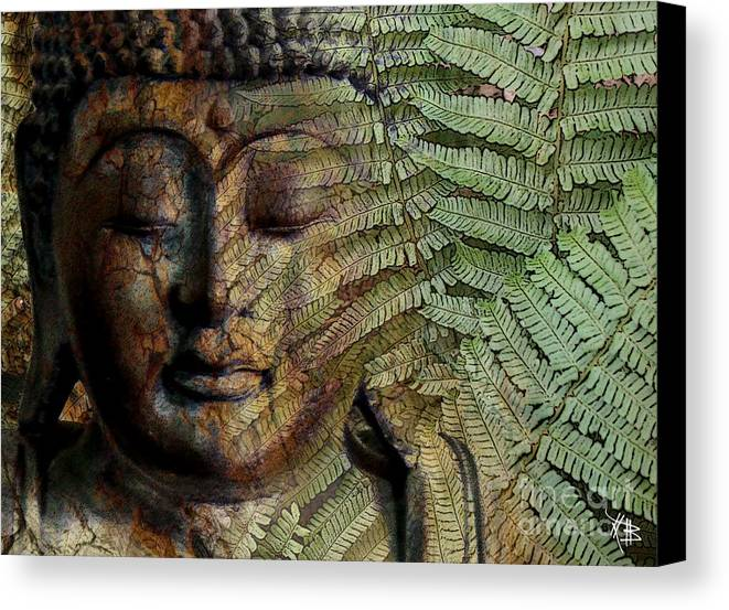 Buddha Art Canvas Print featuring the photograph Convergence Of Thought by Christopher Beikmann