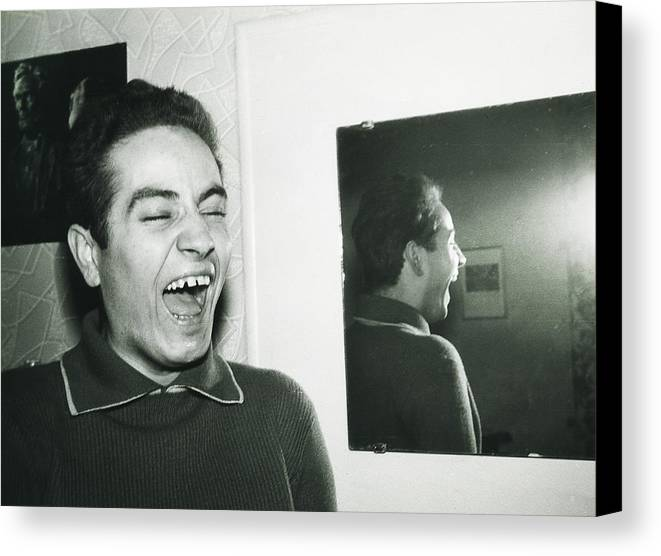 My Brother Canvas Print featuring the photograph Happiness by Hartmut Jager