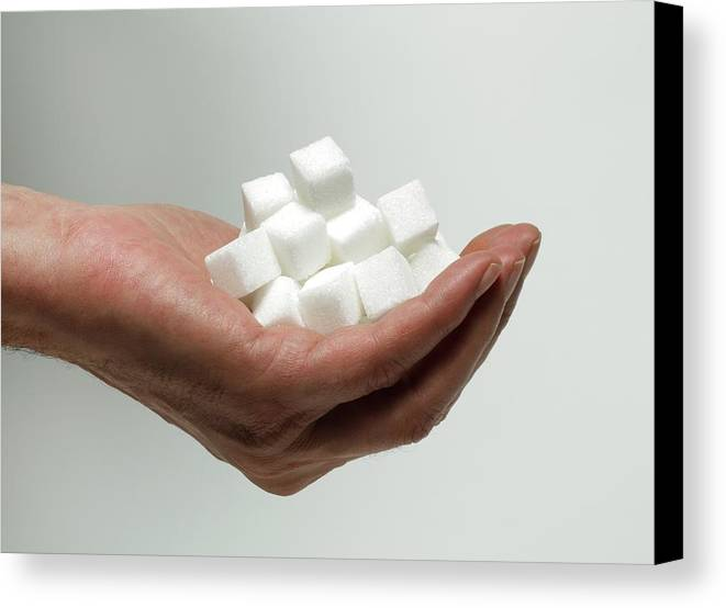 People Canvas Print featuring the photograph Sugar Consumption by Victor De Schwanberg