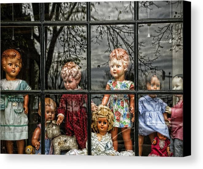 Dolls Canvas Print featuring the photograph Uncertainty by Joanna Madloch