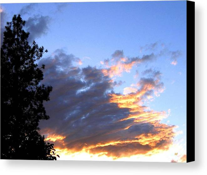 Sunset Canvas Print featuring the photograph Evening Color by Will Borden