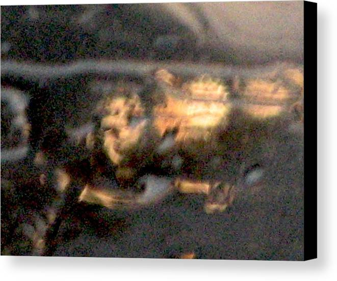Lights Canvas Print featuring the photograph Rain 4 by Stephen Hawks
