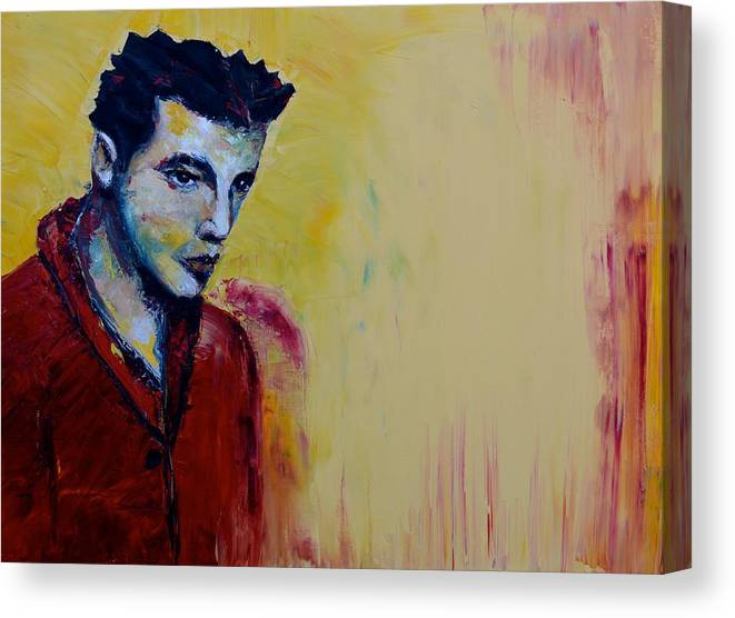 Oil Canvas Print featuring the painting Consequential by Niki Sands