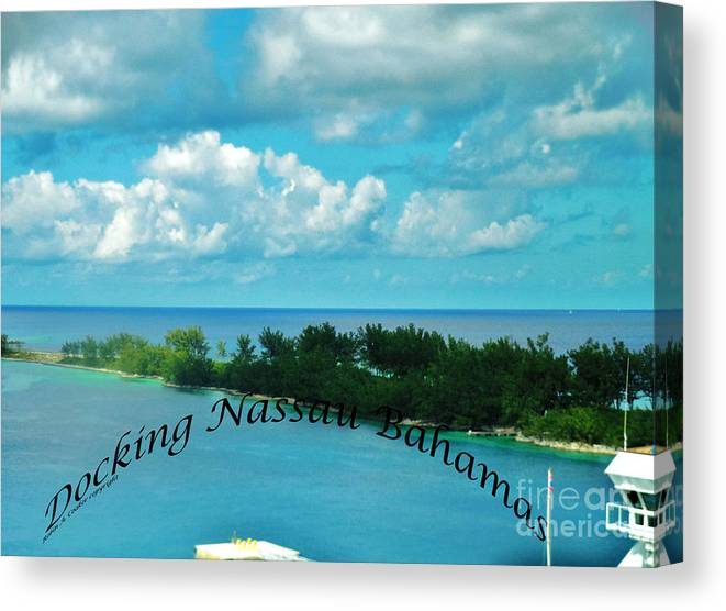 Docking Canvas Print featuring the photograph Docking by Robin Coaker