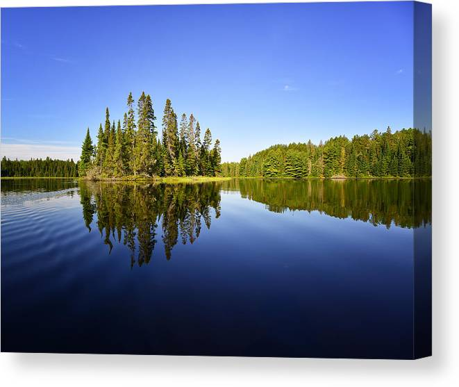 Algonquin Canvas Print featuring the photograph Heaven On Earth by Claudio Bacinello