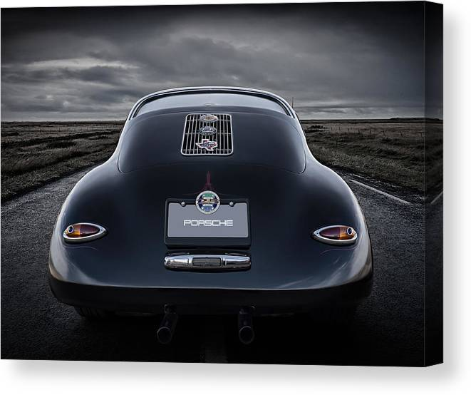 Classic Canvas Print featuring the digital art Open Road by Douglas Pittman