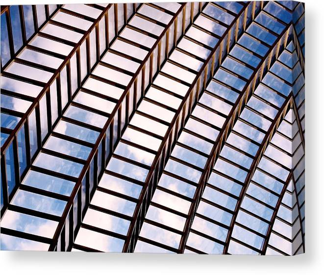 Abstract Canvas Print featuring the photograph Stairway To Heaven by Rona Black