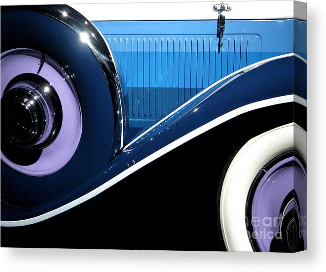 Cars Canvas Print featuring the photograph You Drive Me Wild by Ellen Cotton