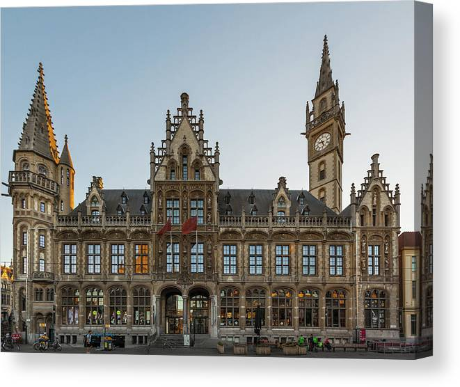 Ghent Canvas Print featuring the photograph Ghent2 by Hristo Shanov