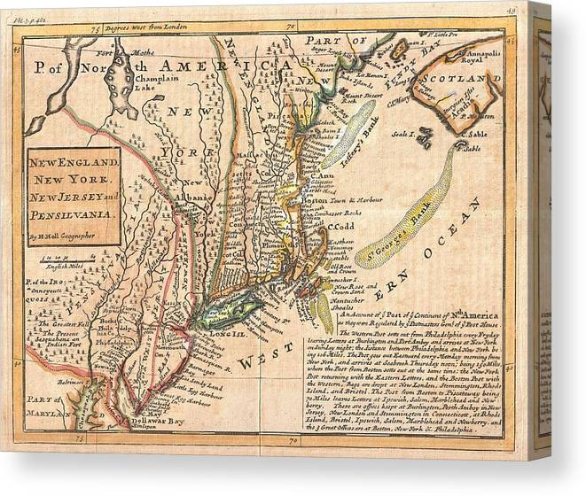 Old New England Map.Antique Maps Old Cartographic Maps Antique Map Of New York New