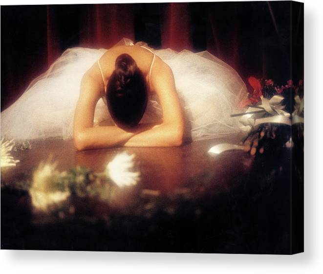 Dance Canvas Print featuring the photograph Degas Tribute 2 by Luciano Comba