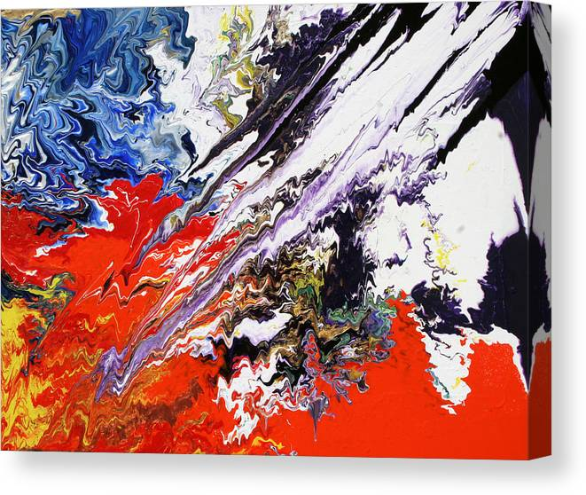 Fusionart Canvas Print featuring the painting Genesis by Ralph White