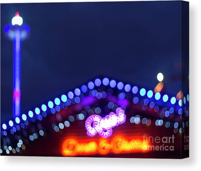 Big Ben Canvas Print featuring the photograph London Christmas Markets 11 by Alex Art and Photo