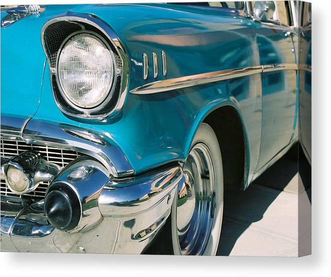 Chevy Canvas Print featuring the photograph Old Chevy by Steve Karol