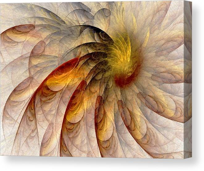Sun Canvas Print featuring the digital art The Sun Do Move - Remembering Langston Hughes by NirvanaBlues