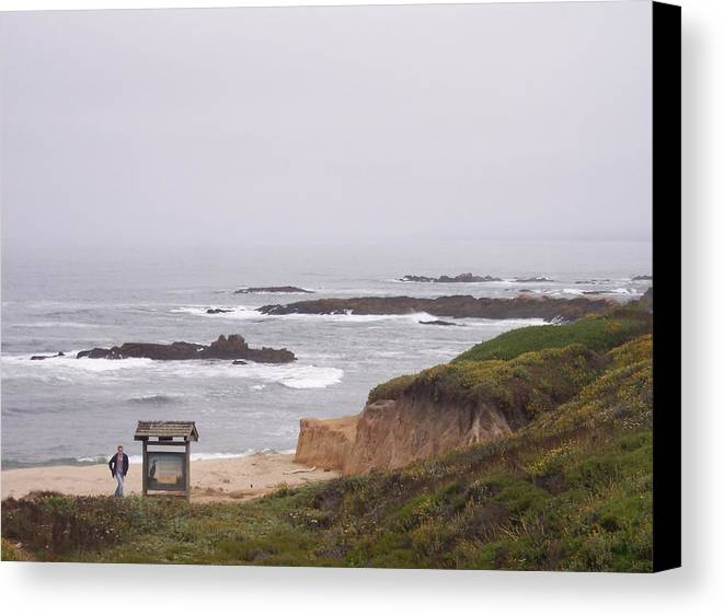 Coast Canvas Print featuring the photograph Coastal Scene 7 by Pharris Art