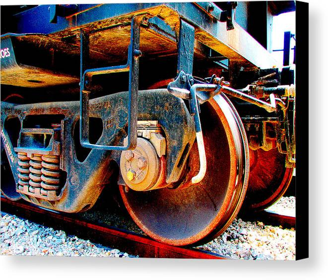 Up 590 Canvas Print featuring the photograph Foundation 1 by Wendy J St Christopher