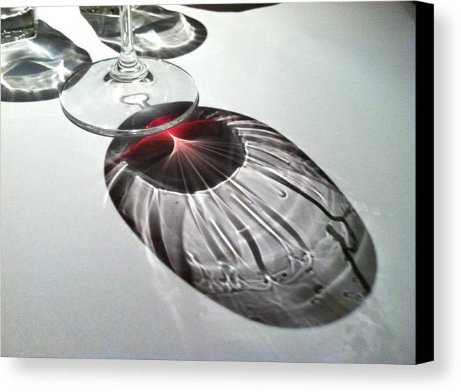 Wine Canvas Print featuring the photograph Look At Those Legs by Anna Villarreal Garbis