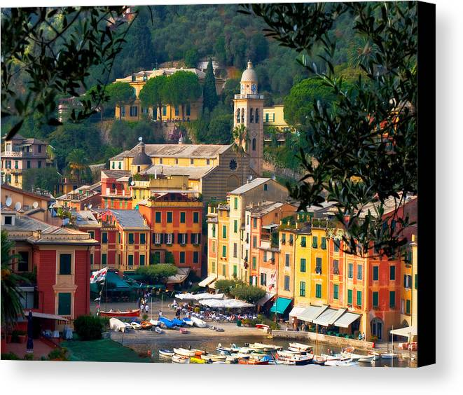 Italy Canvas Print featuring the photograph Portofino by Carl Jackson