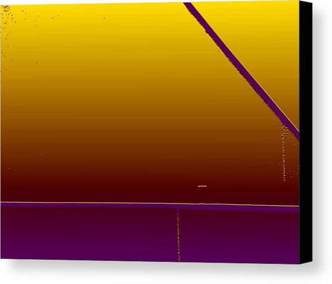 Minimal Canvas Print featuring the photograph Simple Geometry - 4 by Lenore Senior