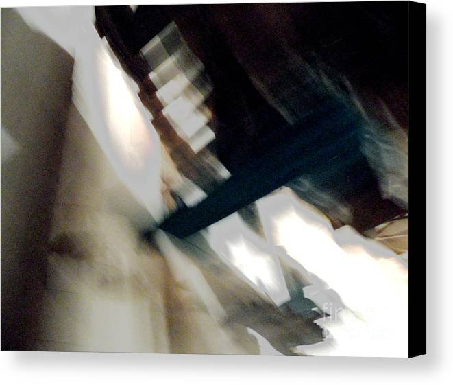Abstract Canvas Print featuring the photograph Untitle-2012 by Peter Szabo