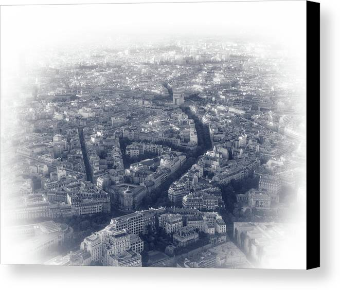 France Canvas Print featuring the photograph Paris Pic.12 by Oleg Volkov